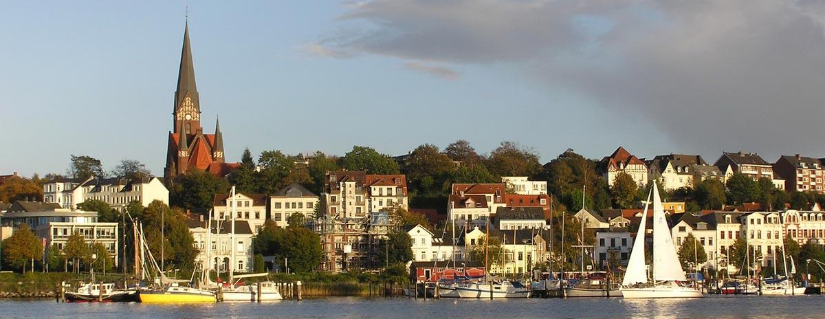 Ansichten von Flensburg